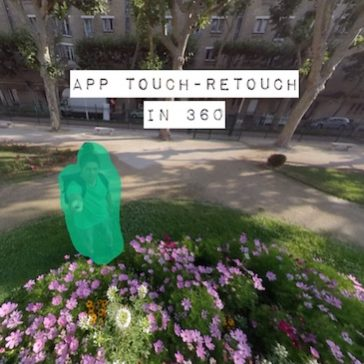 Touch Retouch application
