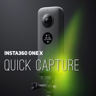 Insta360 ONE X – Quick capture