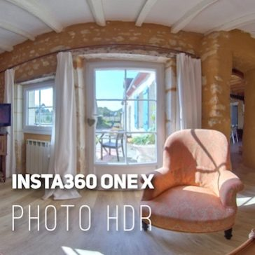 Insta360 ONE X – How to capture the maximum light?