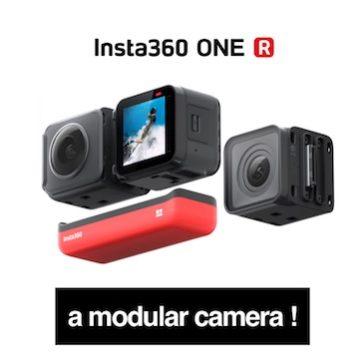 Insta360 ONE R – A modular camera !