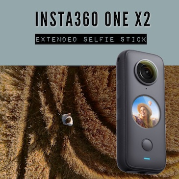 Insta360 ONE X2 – Extended selfie stick