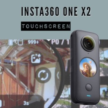 Insta360 ONE X2 – Touchscreen